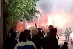 Vụ cháy khách sạn ở Vinh: 1 phụ nữ thiệt mạng vì hoảng loạn