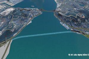 Quảng Ninh xúc tiến xây hầm đường bộ xuyên biển nối hai bờ Cửa Lục