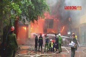 1 người tử vong trong vụ cháy tổ hợp khách sạn, bar, karaoke ở Nghệ An
