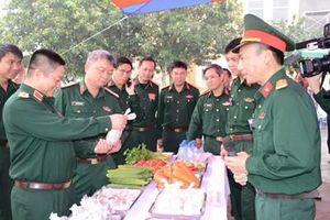 Khai mạc tập huấn ngành quân nhu và thi nâng bậc kỹ thuật nấu ăn bậc cao