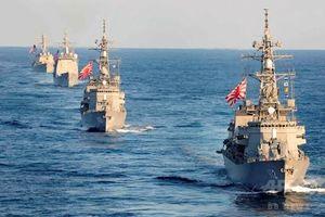 Không có tàu sân bay, Hải quân Nhật Bản vẫn đứng đầu châu Á?
