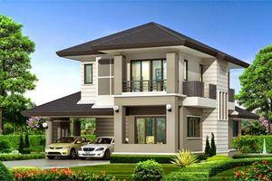 10 mẫu nhà 2 tầng mái thái khoảng 1 tỷ đồng
