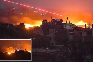 Tình hình Syria: Mỹ nã hỏa lực dữ dội vào khu vực 5.000 chiến binh IS đang ẩn náu