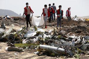 Hé lộ dữ liệu hộp đen Boeing 737 MAX 8 rơi ở Ethiopia