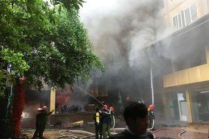 Một phụ nữ tử vong trong vụ cháy khách sạn ở TP Vinh