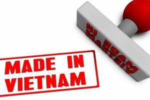 Cần sớm quy định về hàng hóa ghi nhãn sản xuất tại Việt Nam