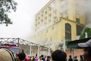 Cháy tổ hợp khách sạn Avatar Nghệ An: Ít nhất một nhân viên tử vong