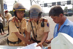 Tp.HCM: Bắt đầu xử phạt tài xế không cài dây an toàn
