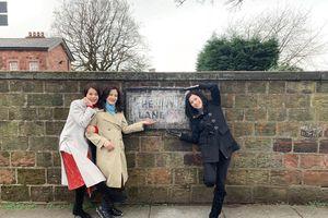 Cuộc hội ngộ của 3 nữ thần TVB Hồ Hạnh Nhi, Tuyên Huyên và Trần Tuệ San khiến hồi ức tuổi thơ ùa về