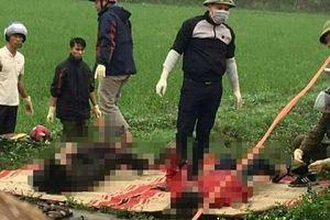 Phát hiện thi thể người phụ nữ mang thai cùng chồng dưới mương nước ở Thái Bình