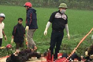 Thái Bình: Phát hiện đôi vợ chồng tử vong dưới mương nước do tai nạn giao thông