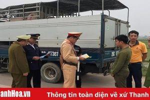 Tăng cường kiểm soát vận chuyển trái phép lợn và sản phẩm từ lợn trên địa bàn tỉnh
