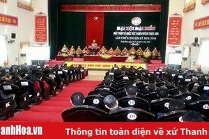 Đại hội đại biểu MTTQ Việt Nam huyện Triệu Sơn lần thứ XI, nhiệm kỳ 2019 – 2024