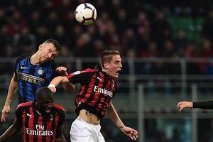 Hàng công bế tắc, AC Milan thất thủ trong trận derby Milan