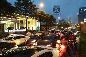 Thực trạng áp lực giao thông tại 2 tuyến đường Nguyễn Trãi- Lê Văn Lương