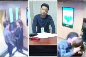 Nạn nhân bị sàm sỡ trong thang máy phản đối mức phạt 200.000 đồng
