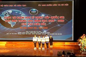 Học sinh dân tộc nội trú giành giải thi KHKT cấp Quốc gia cho tỉnh Điện Biên