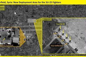 Nga bất ngờ ồ ạt tái triển khai 'xe tăng bay' Su-25 tới 'chảo lửa' Syria