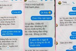 Kỷ luật chuyển công tác thầy giáo nhắn tin 'gạ tình' nữ sinh lớp 10