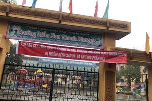 Kết quả kiểm nghiệm an toàn thực phẩm ở cơ sở cung cấp cho trường Thanh Khương