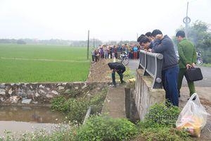 Nam Định: Nữ sinh mất tích, tìm thấy thi thể ở dưới mương
