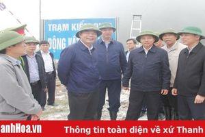 Bộ trưởng Bộ Nông nghiệp và Phát triển nông thôn kiểm tra, chỉ đạo công tác phòng, chống dịch tả lợn châu Phi tại Thanh Hóa