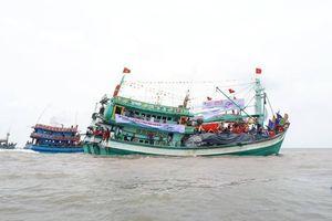 Hạn chế giao thông thủy tại Lễ hội Nghinh Ông Sông Đốc