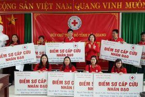 Hội Chữ thập đỏ tỉnh Bắc Giang đẩy mạnh sơ cấp cứu dựa vào cộng đồng