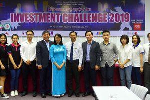 Đại học Tôn Đức Thắng khai mạc Cuộc thi Đầu tư Chứng khoán lần II