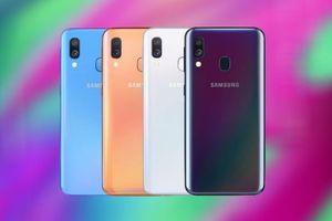 Samsung ra mắt smartphone giá rẻ A-series thứ 5 trong 2 tháng