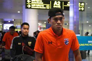 U23 Thái Lan gặp trục trặc trong chuyến bay tới Việt Nam