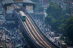 Chuẩn bị khai thác thương mại tuyến đường sắt đô thị Cát Linh - Hà Đông vào cuối tháng 4
