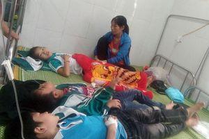 29 học sinh bị ngộ độc, dừng uống sữa Fami Vinasoy