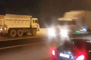 Tước giấy phép lái xe tài xế chạy ngược chiều trên cao tốc TP.HCM - Long Thành