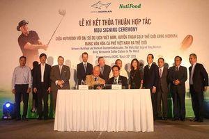 NutiFood và Greg Norman - Đại sứ Du lịch Việt Nam nhân duyên từ ly cà phê