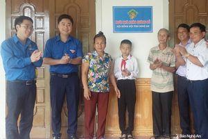 Tỉnh đoàn Nghệ An khánh thành 'Ngôi nhà khăn quàng đỏ' ở Nam Đàn