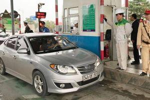 BOT Mỹ Lộc thu phí trở lại sau gần 1 năm tạm dừng, giao thông không ùn tắc