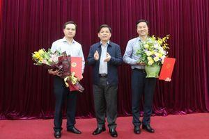 Bộ trưởng Nguyễn Văn Thể trao Quyết định bổ nhiệm Quyền Vụ trưởng Vụ Tài chính