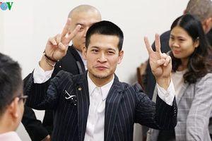 Đạo diễn Việt Tú vui mừng khi tòa phán quyết là tác giả vở 'Ngày xưa'