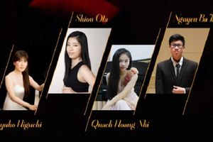 Thần đồng piano 15 tuổi Quách Hoàng Nhi biểu diễn tác phẩm Beethoven trong đêm nhạc Việt - Nhật