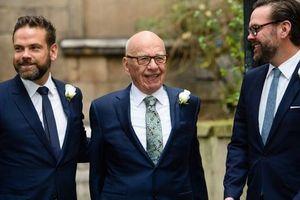 6 người con của Rupert Murdoch thành tỷ phú sau thương vụ Disney - Fox