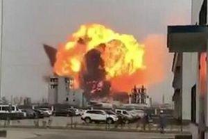 Nổ chấn động ở nhà máy hóa chất Trung Quốc, 6 người chết