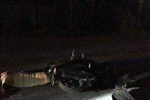 Xe container rời hiện trường sau tai nạn khiến người đàn ông tử vong