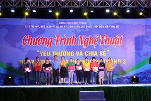 Trao áo ấm cho NLĐ có hoàn cảnh khó khăn tại tỉnh Bình Phước