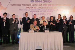 'Vua' golf quảng bá cà phê Việt