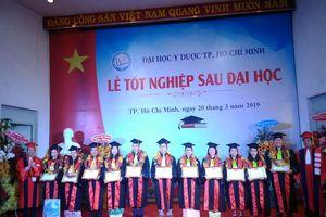 Trường ĐH Y Dược TPHCM: 1.463 học viên sau ĐH nhận bằng tốt nghiệp