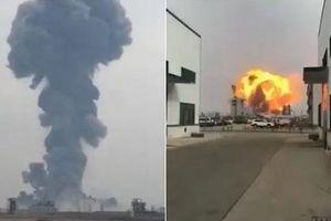 Trung Quốc: Nổ nhà máy hóa chất, ít nhất 36 người thương vong
