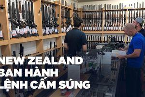 New Zealand cấm vũ khí bán tự động, súng trường tấn công