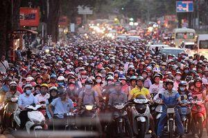 'Điểm danh' 6 tuyến phố dự kiến cấm xe máy theo giờ ở Hà Nội