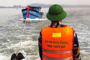 Tàu cá vừa mua đã gặp nạn trên biển